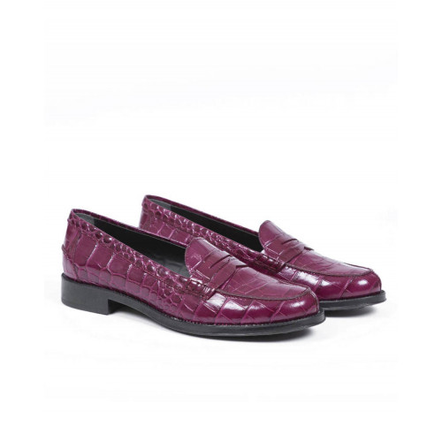 Moccasins Tod's bordeaux for women