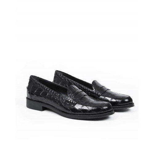 Moccasins Tod's noir black for women
