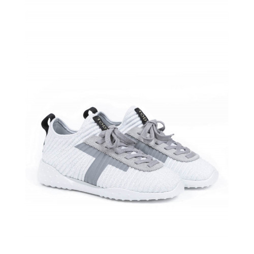 Sneakers Tod's white/silver for women