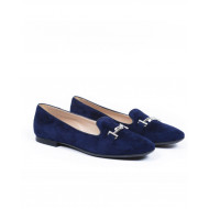 Moccasins Tod's navy blue for women