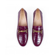 Achat Moccasins Tod's bordeaux with double T for women - Jacques-loup