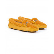 Moccasins Tod's safran color for women