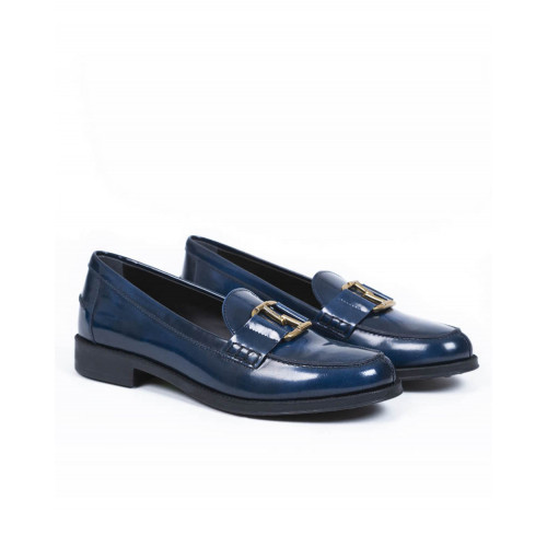 Achat Moccasins Tod's double T navy blue for women - Jacques-loup