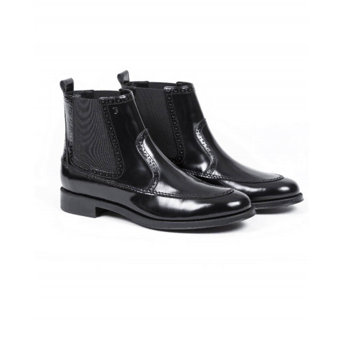 Achat Boots Tod's Beattle black with elastics on the side for women - Jacques-loup
