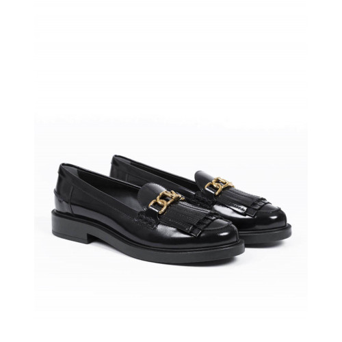 Achat Moccasins Tod's black with metallic bit for women - Jacques-loup