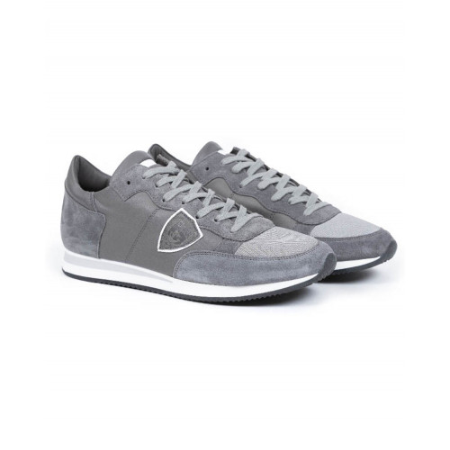 "Tennis shoes Philippe Model ""Tropez"" grey for men"