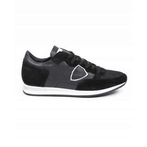 "Sneakers Philippe Model ""Tropez"" black/grey for men"