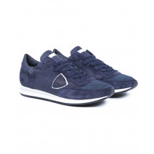 "Sneakers Philippe Model ""Tropez"" navy blue for men"