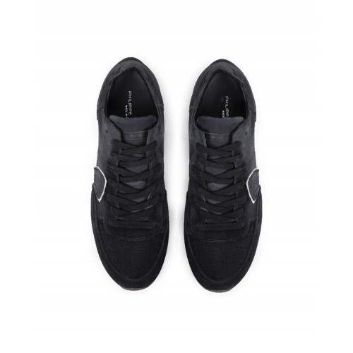 "Sneakers Philippe Model ""Tropez"" black for men"