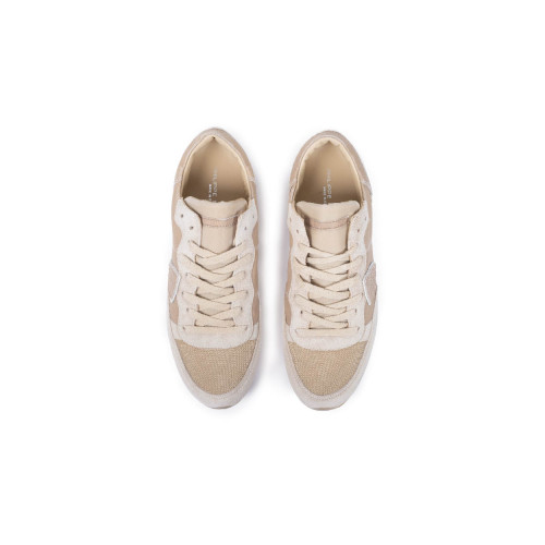 "Sneakers Philippe Model ""Tropez"" beige for men"