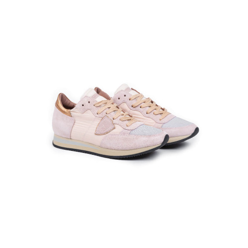 "Sneakers Philippe Model ""Tropez"" pink for women"