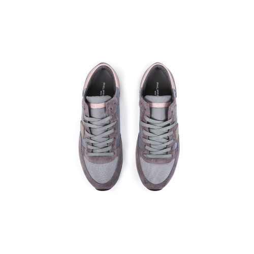 Achat Sneakers Philippe Model Tropez grey/pink for women - Jacques-loup