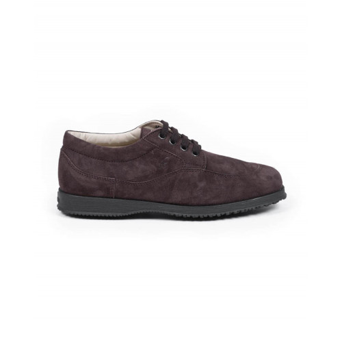 "Tennis shoes Hogan ""New Traditionnal"" brown for women"