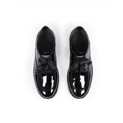 Achat Tennis shoes Hogan New Traditionnal patent black for women - Jacques-loup