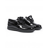 "Tennis shoes Hogan ""New Traditionnal"" patent black for women"