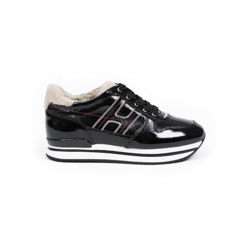 "Sneakers Hogan ""222"" black/natural color for women"