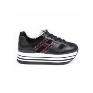 Achat Sneakers Hogan black with black/white sole for women - Jacques-loup
