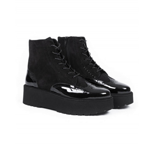 Achat Boots Hogan Fondo Urban black for women - Jacques-loup