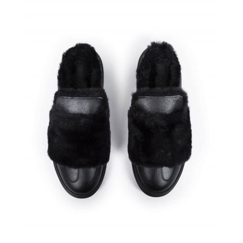 Achat Mules Hogan Cassetta black for women - Jacques-loup
