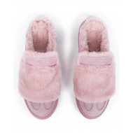 "Mules Hogan ""Cassetta"" pink for women"