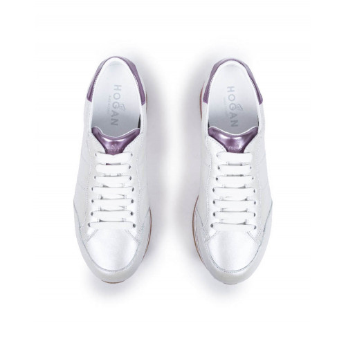 "Sneakers Hogan ""Maxi"" white/pink for women"