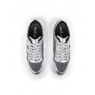 "Sneakers Hogan ""I Cube"" silver for women"