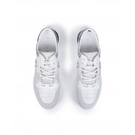 "Sneakers Hogan ""New Active"" white/silver for women"