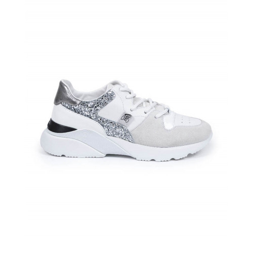 Achat Sneakers Hogan New Active white/silver for women - Jacques-loup