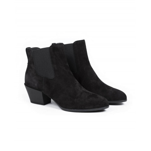 "Boots Hogan ""Texano"" black for women"