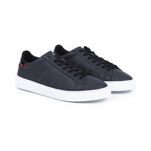 Achat Sneakers Hogan Cassetta black with white sole for men - Jacques-loup