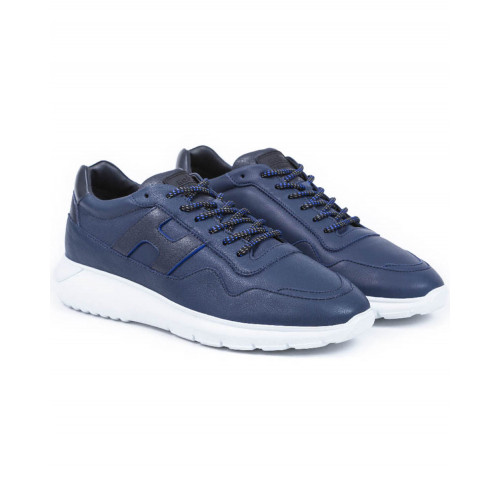 Achat Sneakers Hogan I Cube navy blue for men - Jacques-loup