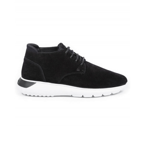 "Sneakers Hogan ""I Cube"" black with white sole for men"