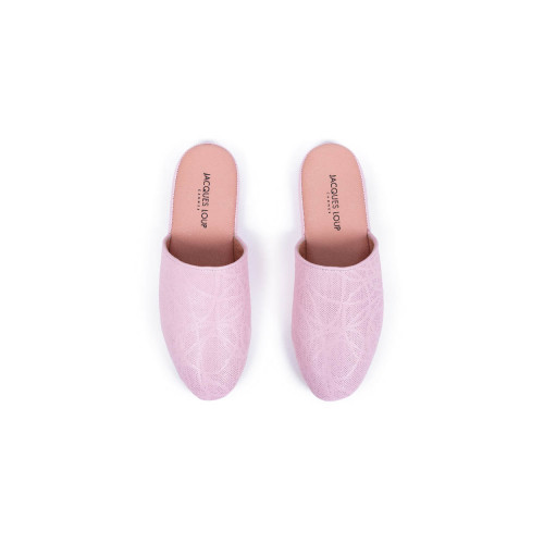 Achat indoor mules Jacques Loup pink for women - Jacques-loup