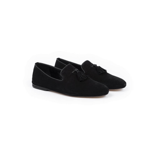 Moccasins Jacques Loup black for men