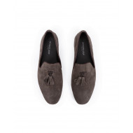 Achat Moccasins Jacques loup brown with tassels for men - Jacques-loup