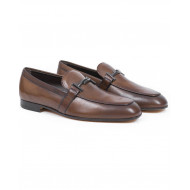Loafers Tod's brown in leather for men