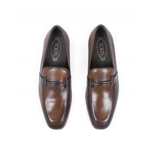 Achat Loafers Tod's brown in leather for men - Jacques-loup