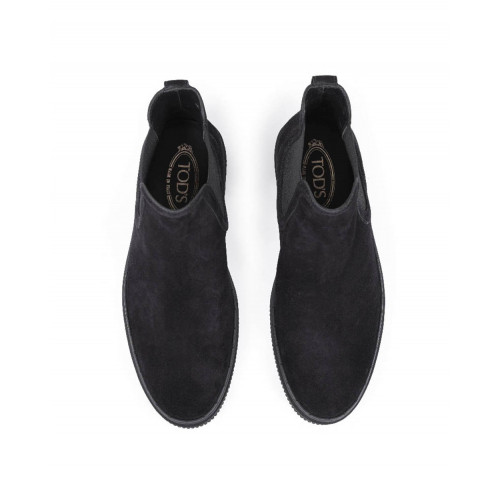"Boots Tod's ""Winter Gomini"" black with elastic on the side for men"