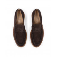 Achat Moccasins Tod's brown with rubber sole for men - Jacques-loup