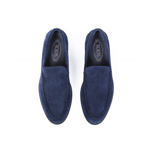 "Moccasins Tod's ""Casual business"" navy blue for men"