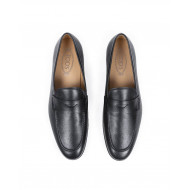 Moccasins Tod's black in leather for men