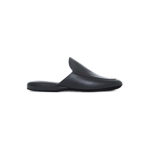 Indoor slippers Jacques Loup black for men