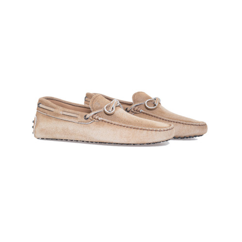 Achat Beige moccasins with shoelaces Tod's beige for men - Jacques-loup