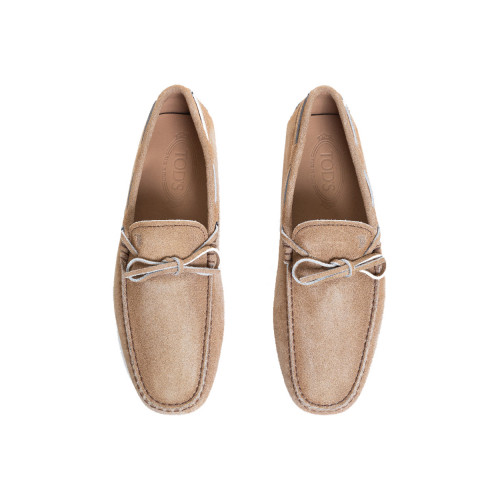 Beige moccasins with shoelaces Tod's beige for men