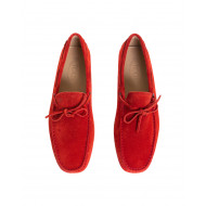 Achat Red moccasins with shoelaces Tod's for men - Jacques-loup