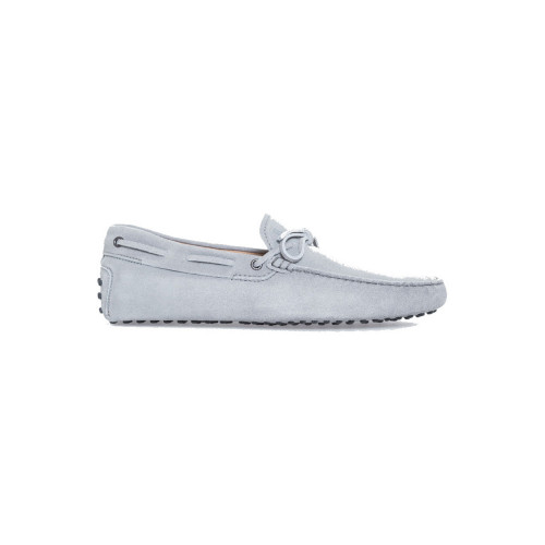 Light grey moccasins with shoelaces Tod's grey for men