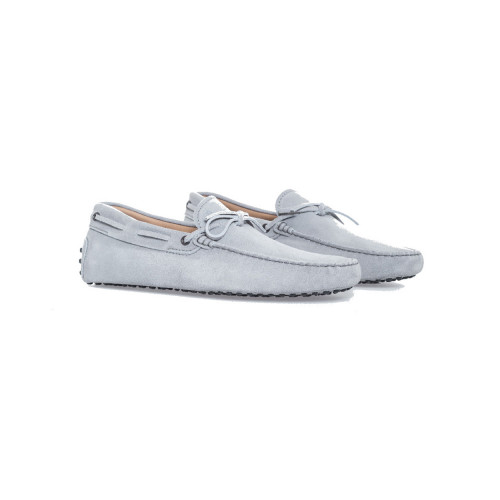 Achat Light grey moccasins with shoelaces Tod's grey for men - Jacques-loup