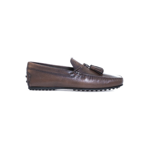 Moccasins Tod's brown with tassels for men
