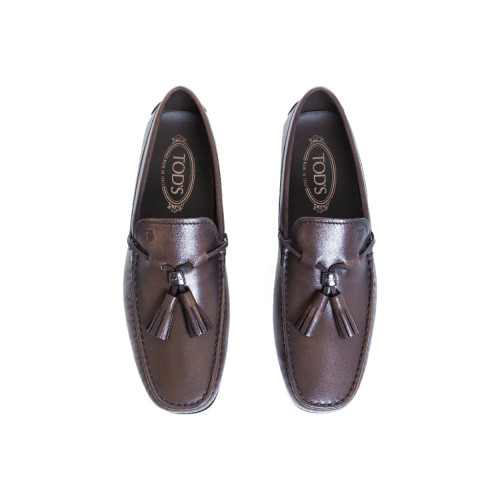 Achat Moccasins Tod's brown with tassels for men - Jacques-loup