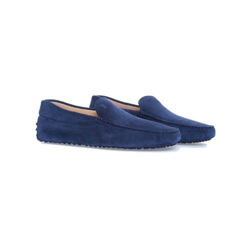 Achat Moccasins Pantofola galaxy blue with smooth upper for men - Jacques-loup